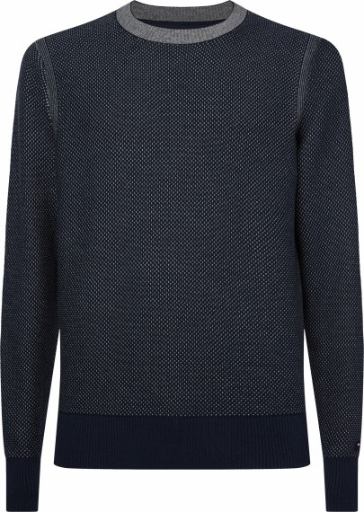 Tommy Hilfiger TWO COLOR STRUCTURED Pullover